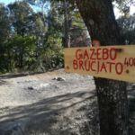 Gazebo Bruciato Perugia Vecchia