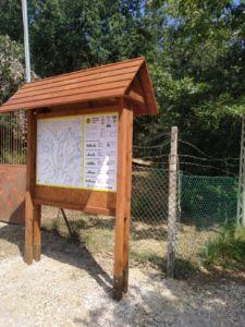 Pannello sentieri Perugia Vecchia